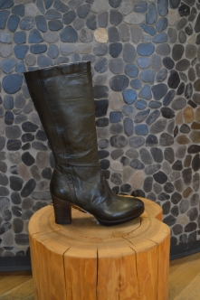 Mjus Boots in Dark Green