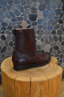 FRYE Short Boots in Burgundy