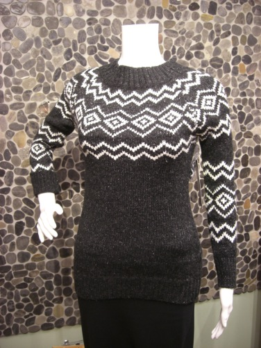 Press knitted sweater