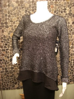 Press sparkle sweater