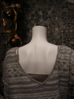 Detail Press boyfriend sweater