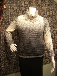 Cozy pebble knit sweater