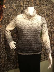 Cozy pebble knit sweater