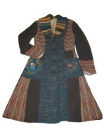 Embroidered Ivko coat