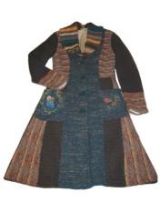 Embroidered Ivko coat