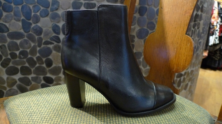 Clarks Short Boot in Black